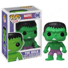 Funko Pop Marvel The Hulk #08 Vinyl Figure