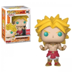 Funko Pop Dragon Ball Z Summer Convention Super Saiyan Broly #402 Vinyl Figure