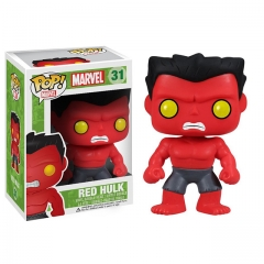 Funko Pop Marvel Red Hulk #31 Vinyl Figure