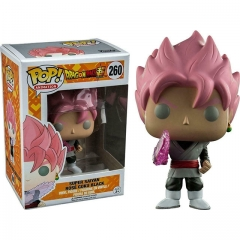 Funko Pop Dragon Ball Z Super Saiyan Rose Goku Black #260 Vinyl Figure