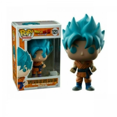 Funko Pop Dragon Ball Z Super Saiyan God Super Saiyan Goku #121 Vinyl Figure