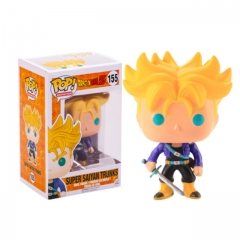 Funko Pop Dragon Ball Z Super Saiyan Trunks #155 Vinyl Figure