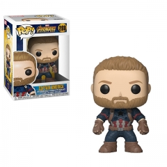 Funko Pop Marvel Infinity War Captain America #288 Vinyl Figure