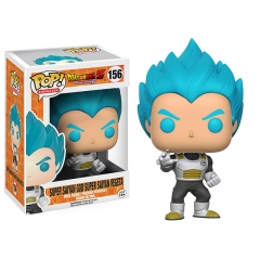 Funko Pop Dragon Ball Z Super Saiyan God Super Saiyan Vegeta #156 Vinyl Figure