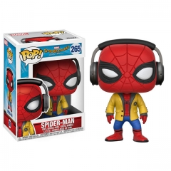 Funko Pop Marvel Spider-Man #265 (Homecoming) (Headphones) Vinyl Figure