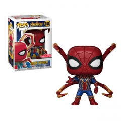 Funko Pop Marvel Avengers  Iron Spider Man 3 Infinity War Action Figure Doll #300
