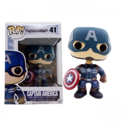 Funko Pop Marvel Captain America #198 Vinyl Figure