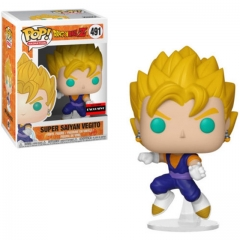 Funko Pop Dragon Ball Z Super Saiyan Vegito #491 Vinyl Figure