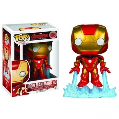 Funko Pop Marvel Iron Man Mark 43 #66 Vinyl Figure