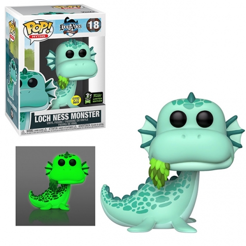 Funko Pop Loch Ness Monster #18 Glow in the Dark GITD LE1500 ECCC 2020 Vinyl Figure